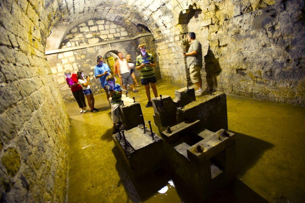 Fort de Douaumont - Intérieur